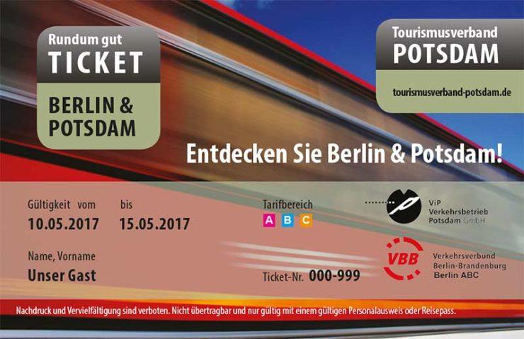Kostenlos bei der Buchung eines Hotels in Potsdam