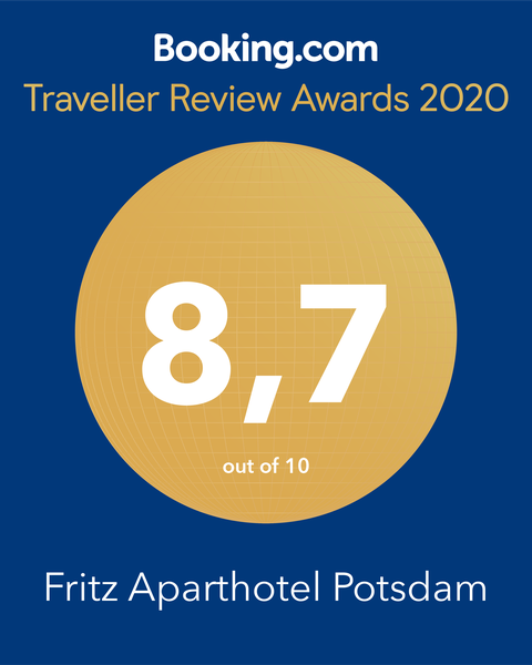 Booking Award Hotel Potsdam